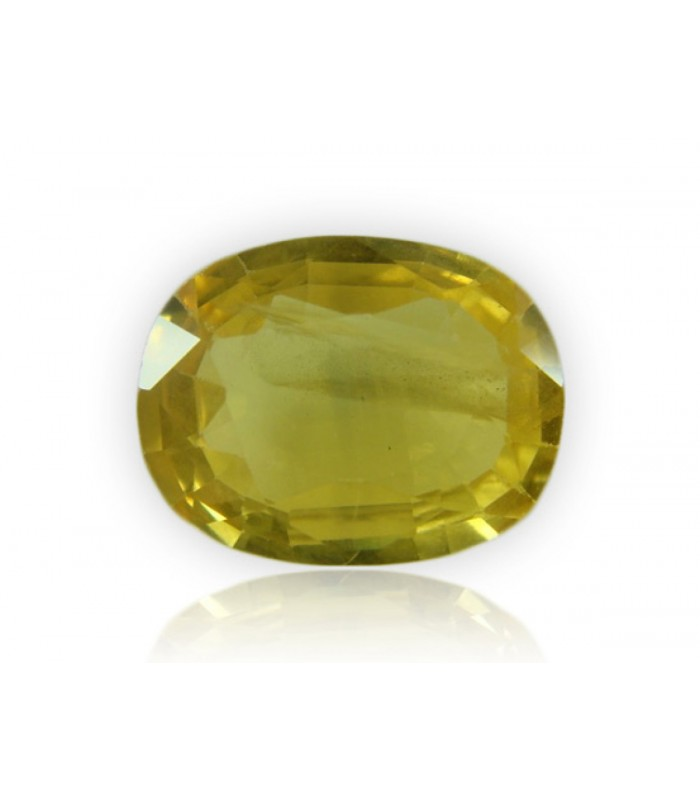 11.13 cts Unheated Natural Yellow Sapphire