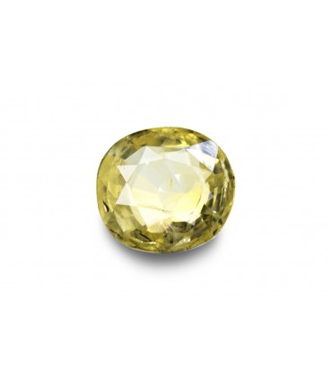 2.39 cts Unheated Natural Yellow Sapphire