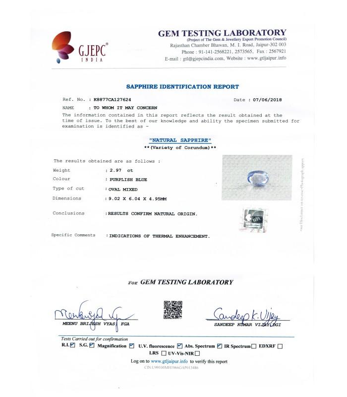 5.51 cts Natural Ruby