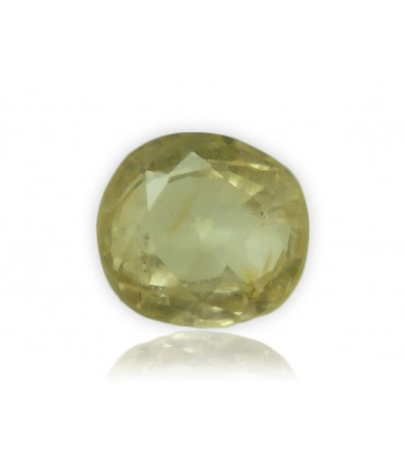 1.59 cts Unheated Natural Yellow Sapphire