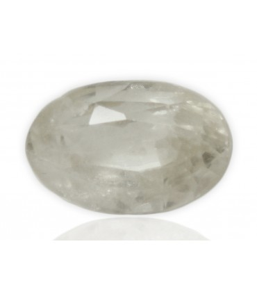2.33 cts Natural White Sapphire