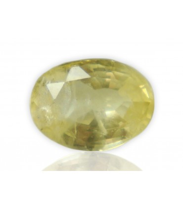 1.73 cts Unheated Natural Yellow Sapphire
