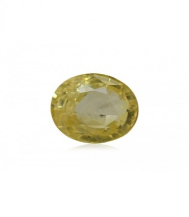 7.10 cts Unheated Natural Yellow Sapphire