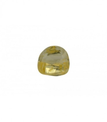 5.87 cts Unheated Natural Yellow Sapphire