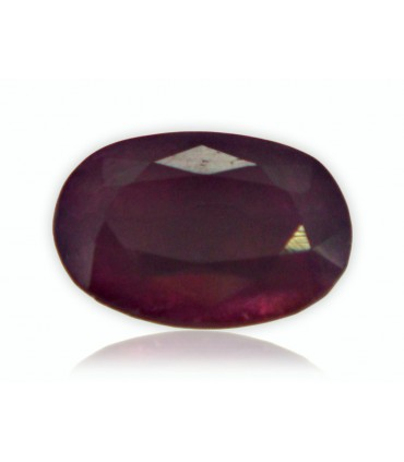 5.67 cts Unheated Natural Ruby