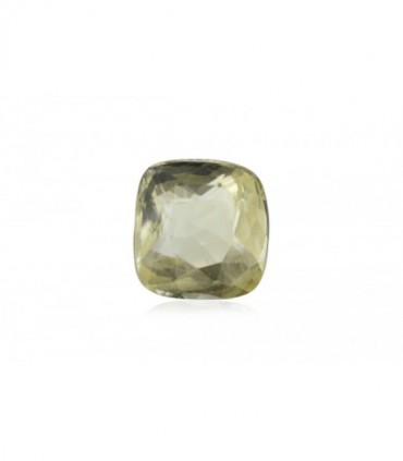 3.01 cts Unheated Natural Yellow Sapphire