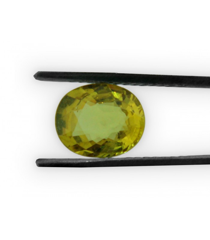 3.73 cts Unheated Natural Yellow Sapphire