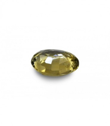 2.95 cts Unheated Natural Yellow Sapphire