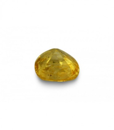 2.57 cts Unheated Natural Yellow Sapphire