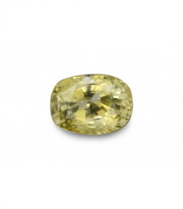 3.85 cts Unheated Natural Yellow Sapphire