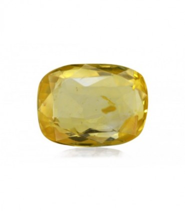 6.91 cts Unheated Natural Yellow Sapphire
