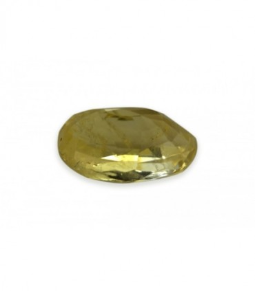 5.41 cts Unheated Natural Yellow Sapphire