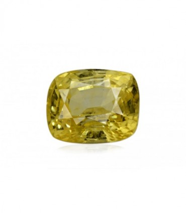 7.59 cts Unheated Natural Yellow Sapphire