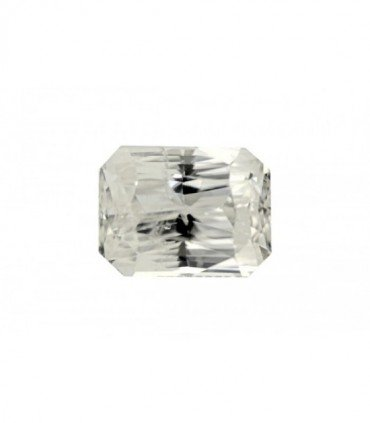 5.12 cts Unheated Natural White Sapphire