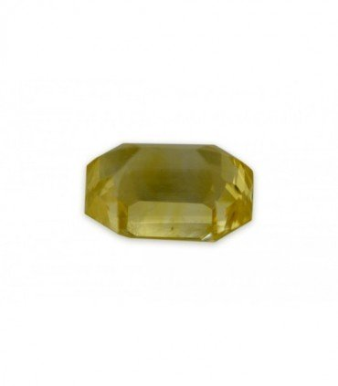 8.44 cts Unheated Natural Yellow Sapphire