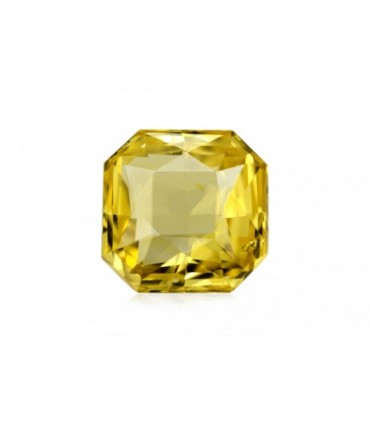 3.47 cts Unheated Natural Yellow Sapphire
