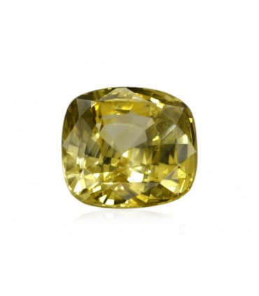 5.06 cts Unheated Natural Yellow Sapphire