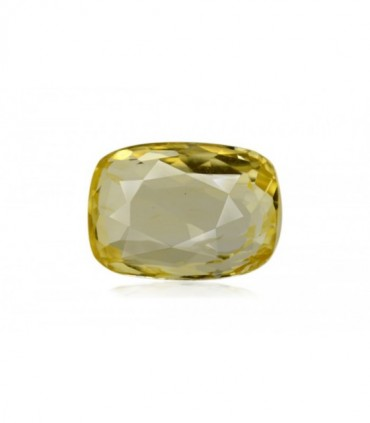 6.80 cts Unheated Natural Yellow Sapphire