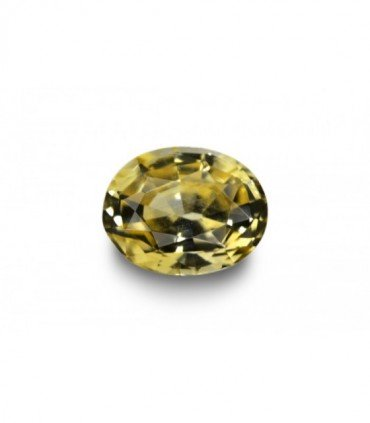 0.97 cts Unheated Natural Yellow Sapphire