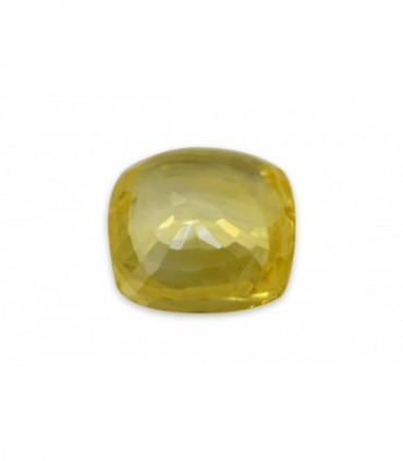 8.39 cts Unheated Natural Yellow Sapphire
