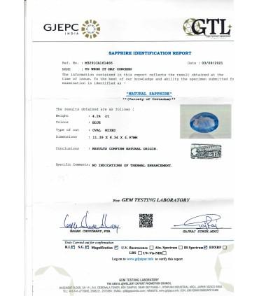 3.03 cts Natural Emerald
