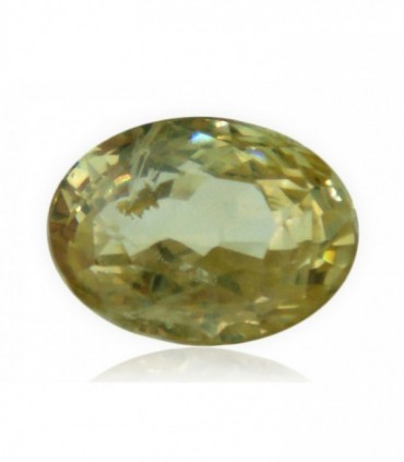 2.61 cts Unheated Natural Yellow Sapphire