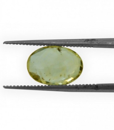 2.71 cts Unheated Natural Yellow Sapphire