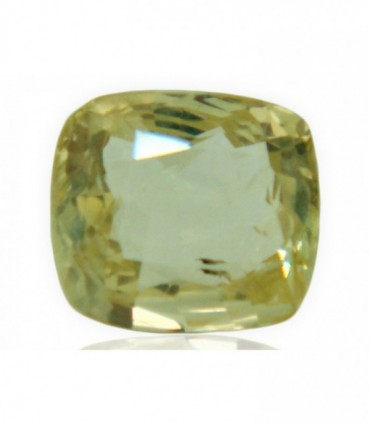 2.66 cts Unheated Natural Yellow Sapphire