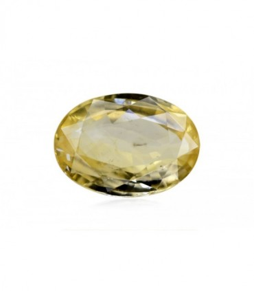 3.06 cts Unheated Natural Yellow Sapphire