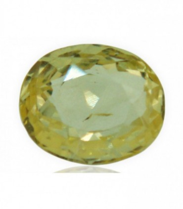 3.43 cts Unheated Natural Yellow Sapphire