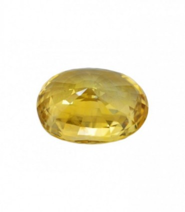 9.33 cts Unheated Natural Yellow Sapphire