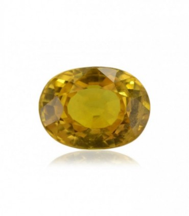 3.24 cts Unheated Natural Yellow Sapphire