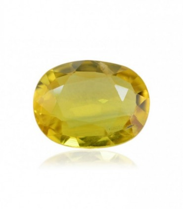 2.92 cts Unheated Natural Yellow Sapphire