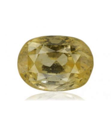 4.61 cts Unheated Natural Yellow Sapphire
