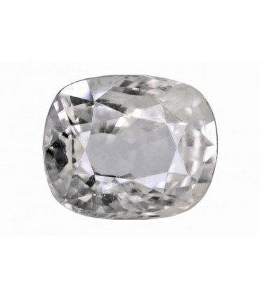 5.22 cts Unheated Natural White Sapphire