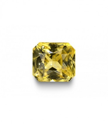3.96 cts Unheated Natural Yellow Sapphire