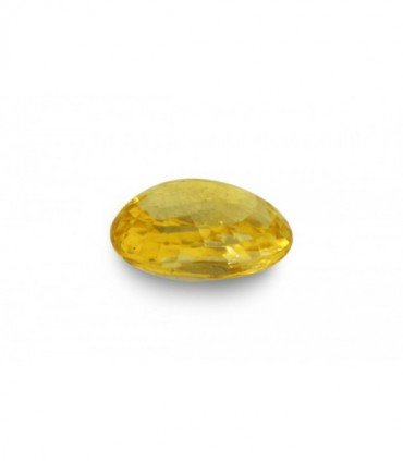4.07 cts Unheated Natural Yellow Sapphire
