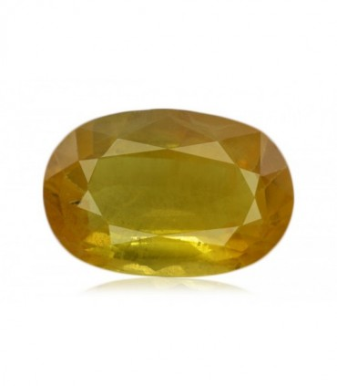 2.46 cts Unheated Natural Yellow Sapphire