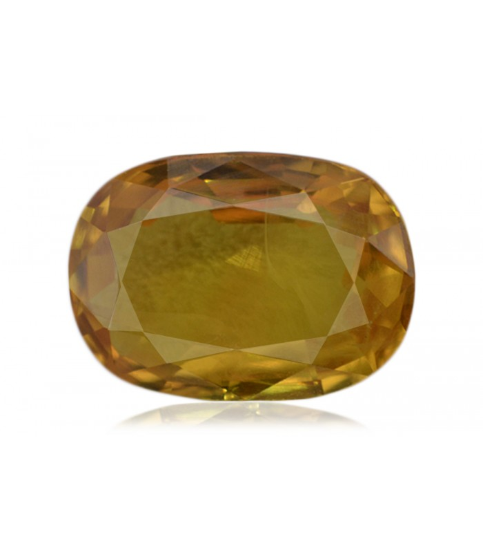 2.47 cts Unheated Natural Yellow Sapphire