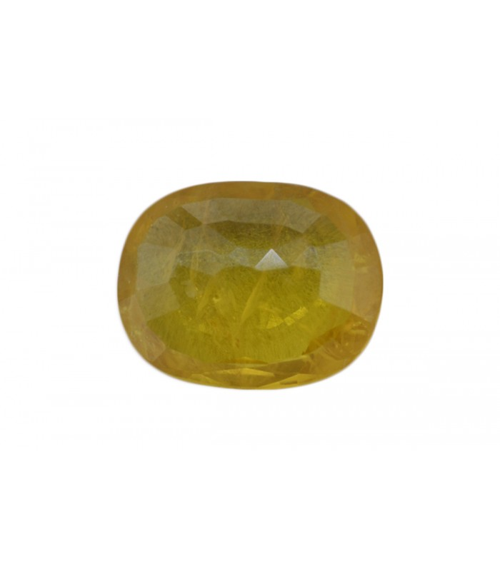 2.16 cts Unheated Natural Yellow Sapphire