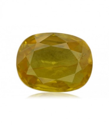 1.68 cts Unheated Natural Yellow Sapphire