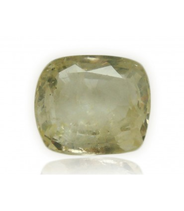 3.52 cts Unheated Natural Yellow Sapphire