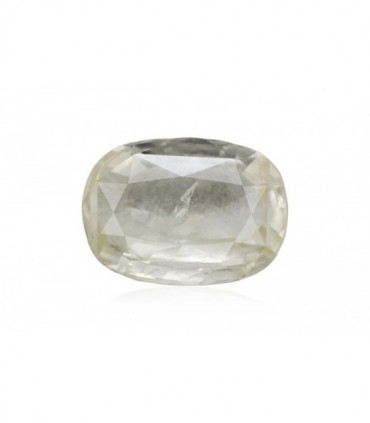 2.59 cts Unheated Natural White Sapphire