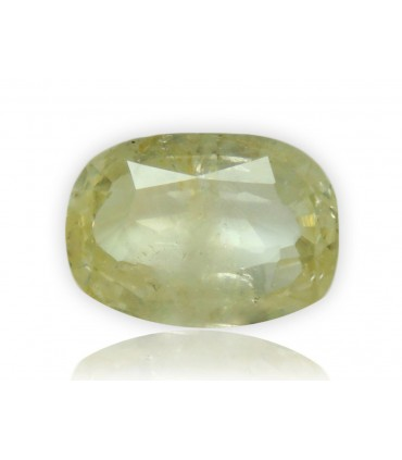 4.59 cts Unheated Natural Yellow Sapphire