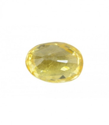 3.55 cts Unheated Natural Yellow Sapphire