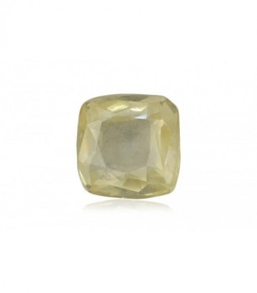 1.63 cts Unheated Natural Yellow Sapphire