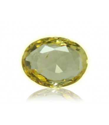 2.98 cts Unheated Natural Yellow Sapphire