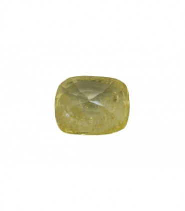 1.57 cts Unheated Natural Yellow Sapphire
