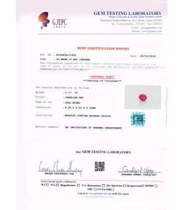 3.01 cts Natural Emerald