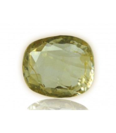 3.27 cts Unheated Natural Yellow Sapphire